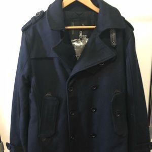 Macy's Double Breasted Coat
